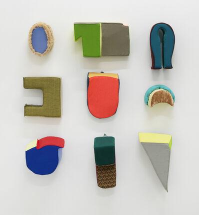 Liz Nurenberg, 'Untitled Wall Sculptures (Grouping)', 2020