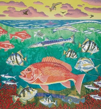 Billy Hassell, 'Blue Water Reef', 2015