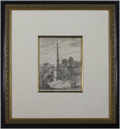 Jan Frans van Bloemen, called Orizzonte, 'Figures at the Obelisk', 1670-1746