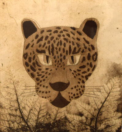 Peter Lasher, 'Snow Leopard', 1998