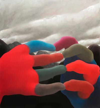 Jordan Kasey, 'Hands with Black Mountains', 2013