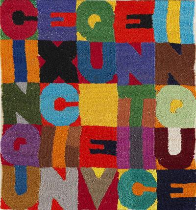 Alighiero Boetti, 'Cinque per cinque venticinque', 1989