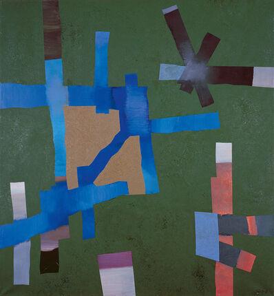 Fritz Winter, 'Blau geöffnet', 1968
