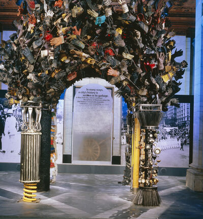Mierle Laderman Ukeles, 'Ceremonial Arch Honoring Service Workers in the New Service Economy', 1989-1994