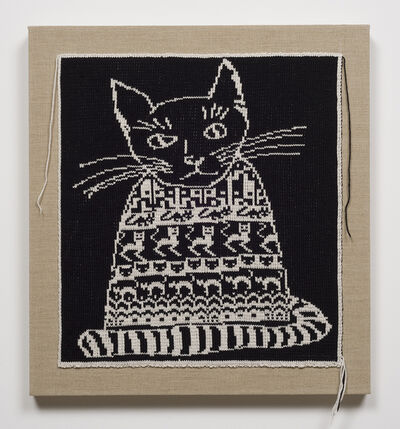 Lisa Anne Auerbach, 'Black Cat in Black Sweater ', 2014