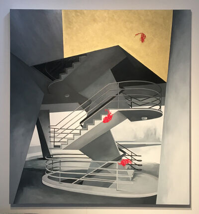 Julie Langsam, 'Breuer Staircase, Unesco World Headquarters ', 2015-2020