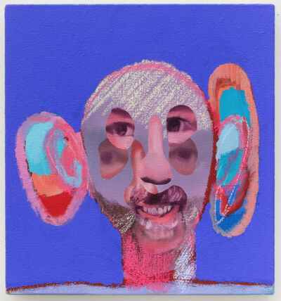 Alessandro Pessoli, 'Double Mushroom', 2016