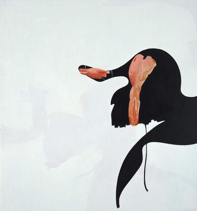 Charline von Heyl, 'Outcat', 2002