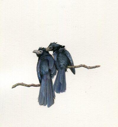 Dina Brodsky, 'Two Black Birds', 2018