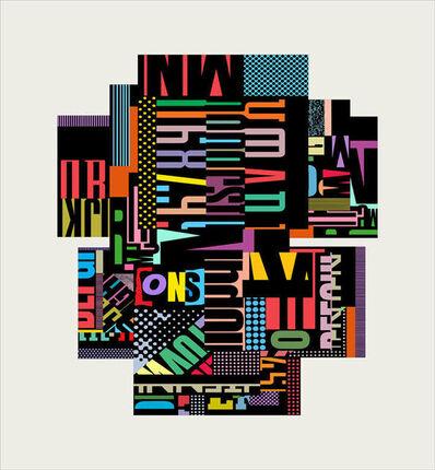Louis Ocepek, 'Typographics One', 2020