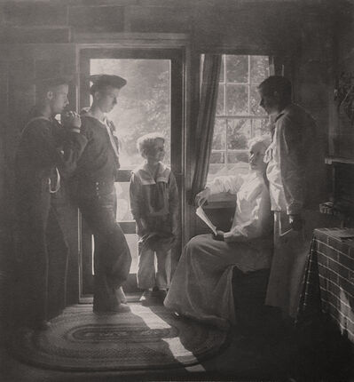 Gertrude Käsebier, 'Sunshine in the House (Clarence H. White and family)', 1913