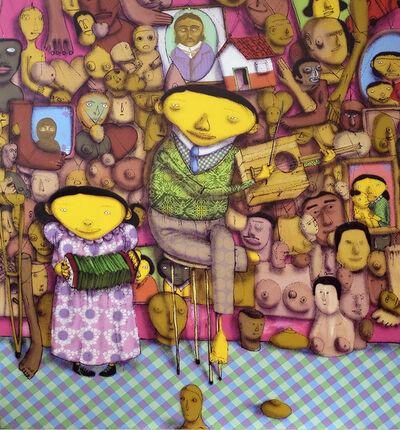 Os Gemeos, 'El Salon de Los Milagros ', 2008