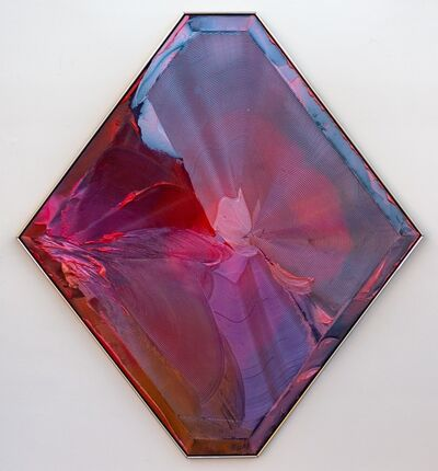 Joseph Drapell, 'Life Fulfilled - Psychedelic abstract with bright pinks, purples and blues', 1988