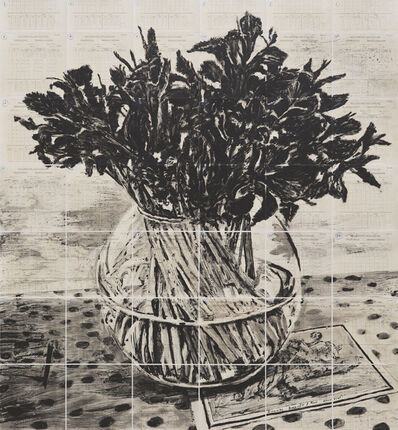 William Kentridge, 'Irises, Royal Observatory', 2019
