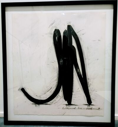 Bernar Venet, 'Undetermined Line', 1988