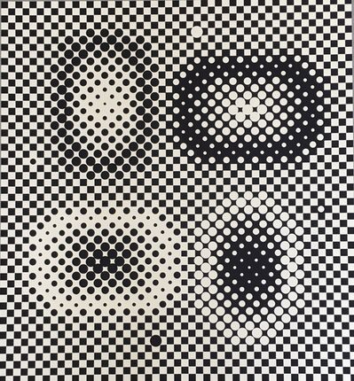 Victor Vasarely, 'ME-TA from Bach', 1965