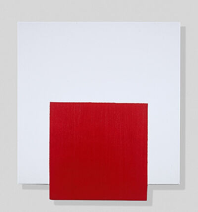John Goodyear, 'Red, On and Off', 2018