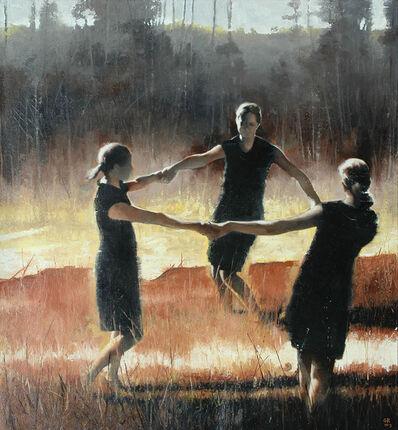 Gary Ruddell, 'Three Graces in Yellow Ochre', 2012