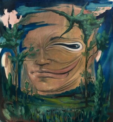 JAN SOUMAR, 'Face in the landscape 2', 2020