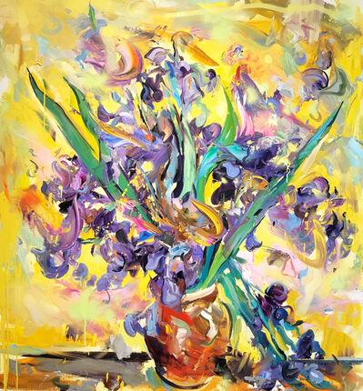 Paul Wright, 'Irises (After Van Gogh)', 2017