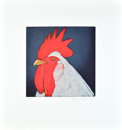 Karin Kneffel, 'rooster red (Gockel rot)', 2000-2010