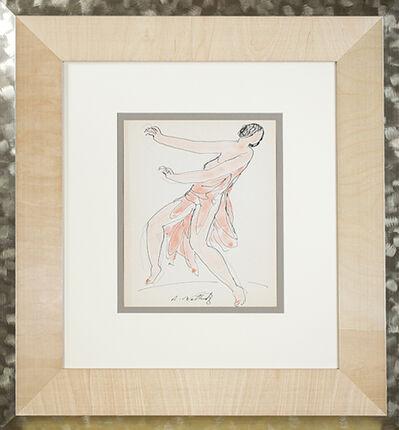 Abraham Walkowitz, 'Isadora Duncan (Orange)', ca. 1920