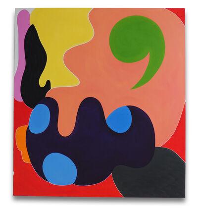 Jessica Snow, 'Green Comma', 2014