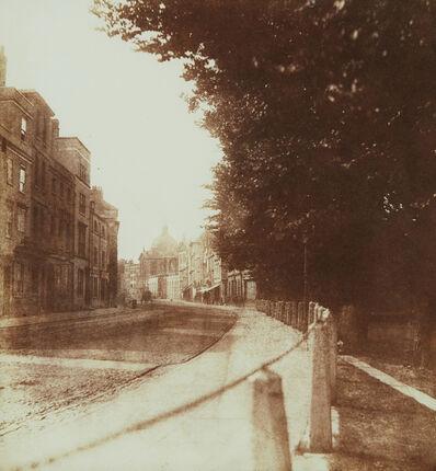 William Henry Fox Talbot, 'Oxford High Street', 1843
