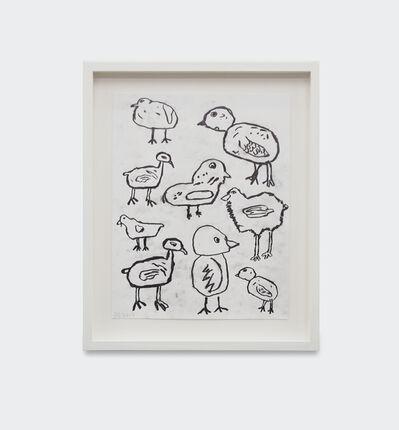 Donald Baechler, 'Birds ', 2019