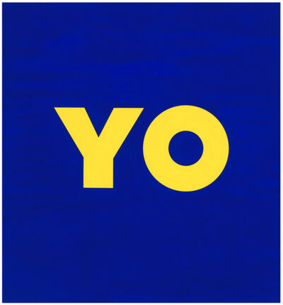 Deborah Kass, 'YO', 2011