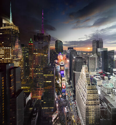 Stephen Wilkes, 'Times Square, New Years Eve', 2012