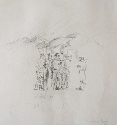 Anthony Eyton, 'Army Group, Gorkhas'