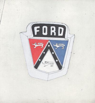 Ed Ruscha, 'Ford', 2009
