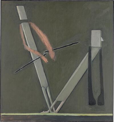 Mernet Larsen, 'Holding Back', 1988