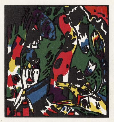 Wassily Kandinsky, 'Bogenschütze', 1908-1909