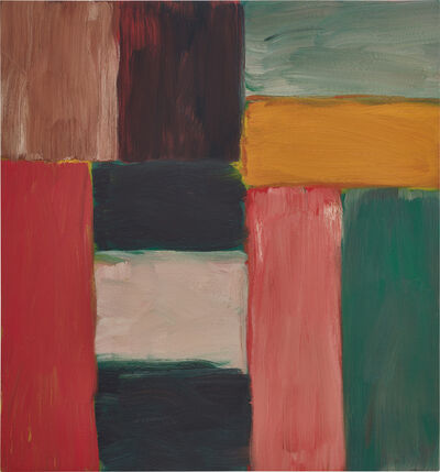 Sean Scully, 'Wall of Light Green', 2013