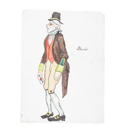 """Russel Wright, 'Unique portfolio of eighteen stage and costume designs for """"The Rivals'"""