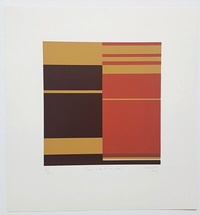 Marie-Thérèse Vacossin, 'Geometric Composition', 1979