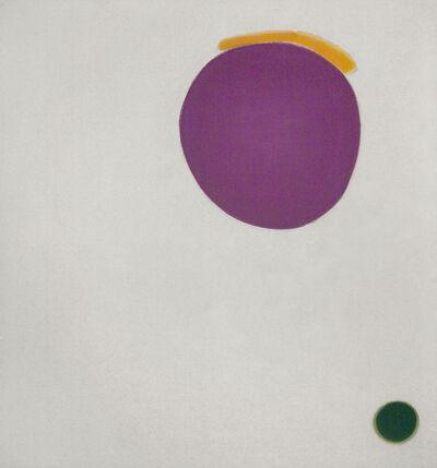 Jules Olitski, 'Hot Slash Yellow', 1964