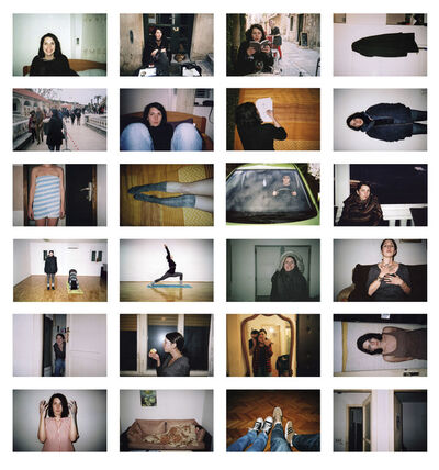 Glorija Lizde, 'My partner photographs me', 2018