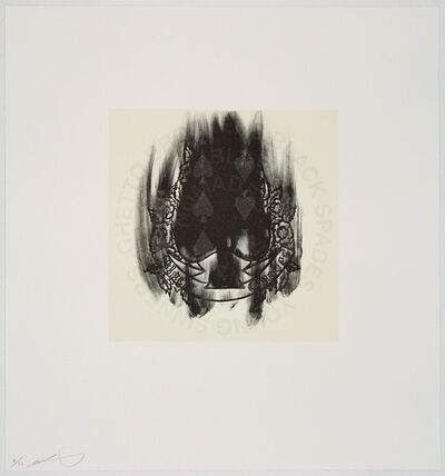 Gary Simmons, 'Spade', 2005