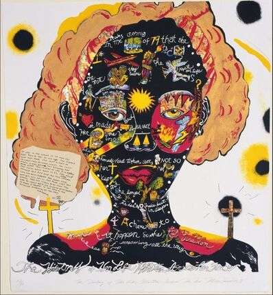 Margo Humphrey, 'The History of Her Life was Written on Her Face ', 1991