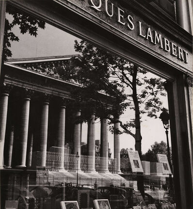 Albert Monier, 'La Madeleine in the Storefront Reflection, Paris', 1950s/1950s
