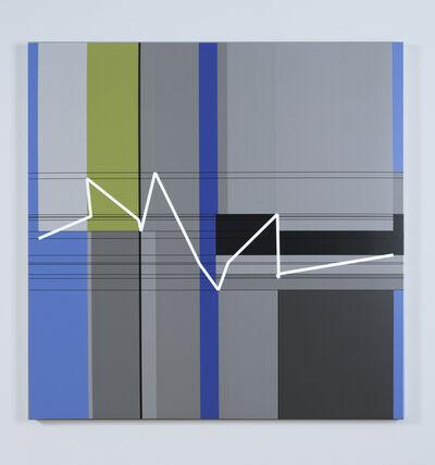 Manfred Mohr, 'P1611_10723', 2012-2013