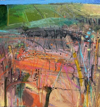 John Brown, 'Autumn Fields - Moire ', ca. 2018