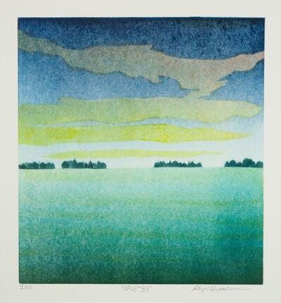 Keiji Shinohara, 'Opus 33', 2016