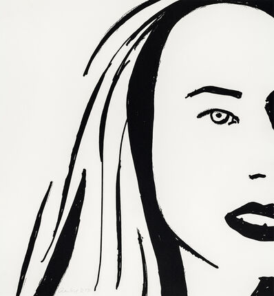 Alex Katz, 'Beauty VI', 2019