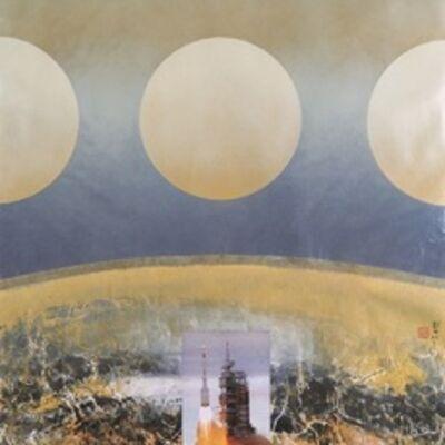 Liu Kuo-sung 刘国松, 'Launch: Shenzhou VII(1)', 2010