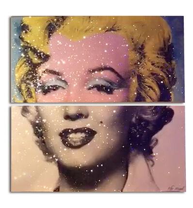 Kfir Moyal, 'Iconic Marilyn Monroe (Diptych)', 2017