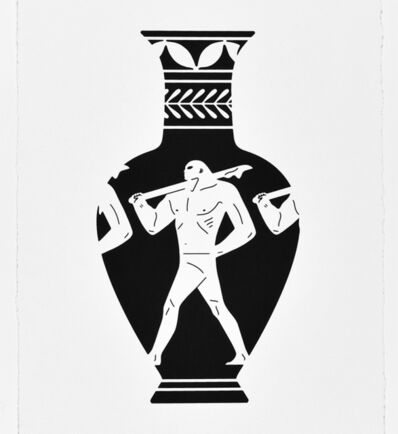 Cleon Peterson, 'END OF EMPIRE, LEKYTHOS ', 2018
